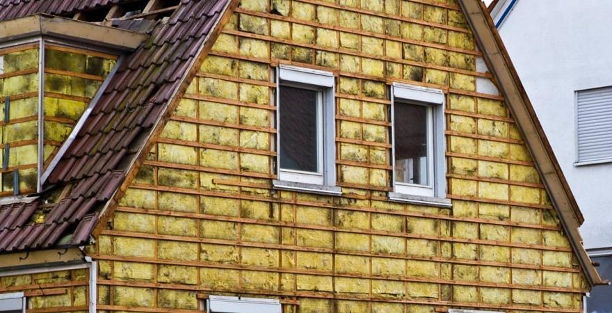 Варианты утепления стен дома