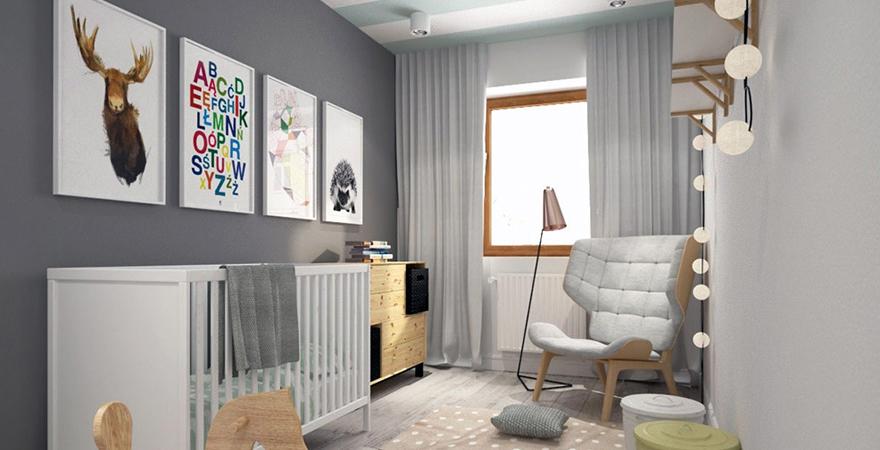 Постеры для детской комнаты в скандинавском стиле