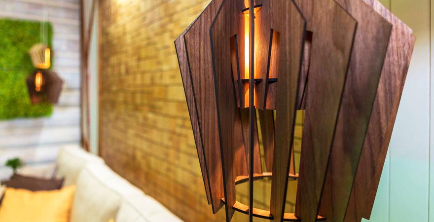 Светильники в стиле эко