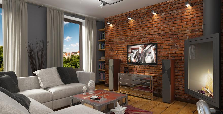 Ремонт трехкомнатной квартиры в стиле лофт