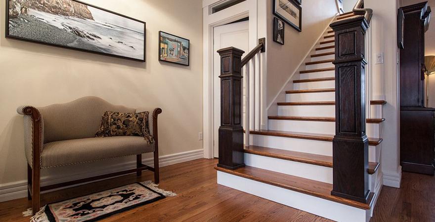 Лестница в американском стиле
