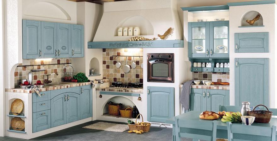 Кухонный гарнитур в средиземноморском стиле