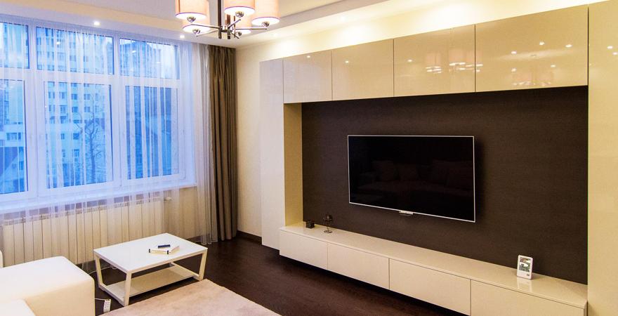 Косметический ремонт трехкомнатной квартиры