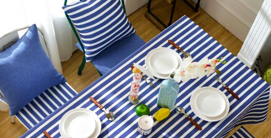 Кухонный текстиль в средиземноморском стиле