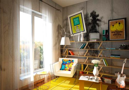 Как создать место для чтения в интерьере