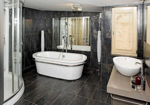 Обустройство большой ванной комнаты
