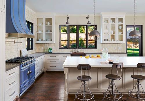 Как оформить интерьер кухни в стиле кантри