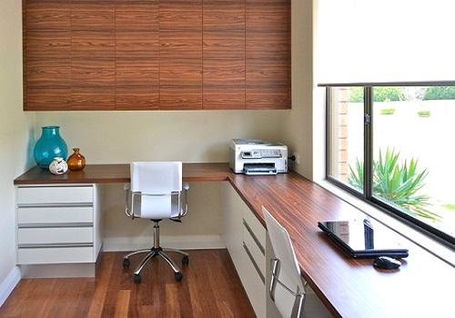 Как оформить офис для двоих в домашних условиях