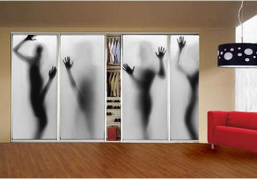 5 идей для оформления дверцы шкафа-купе или гардероба своими руками