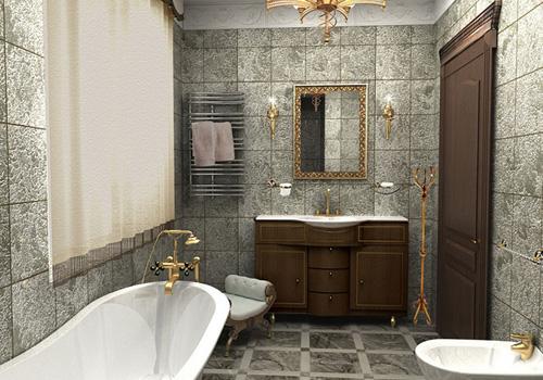 Как выбрать мебель для ванной: особенности материалов