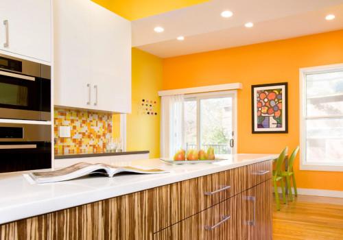 Цвет радости или оранжевый в интерьере