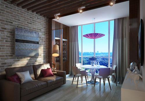 Панорамные окна в интерьере: французский шик или неуместная роскошь