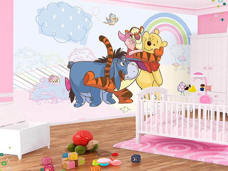 Как использовать фотообои при оформлении детской комнаты