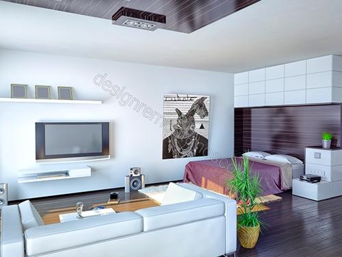 Дизайн интерьера квартиры-студии: преимущества и подводные камни