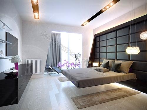 Спальня хай-тек: сочетание простоты и эстетичности