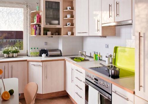 3 в 1: кухня, столовая и место для общения