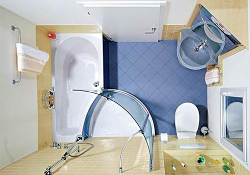 Идеи для дизайна интерьера ванной комнаты в хрущёвке