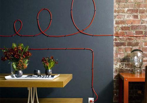 Прячем провода красиво: несколько идей, как замаскировать провода под интерьер
