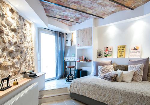 Несколько идей для оформления спальни в стиле лофт