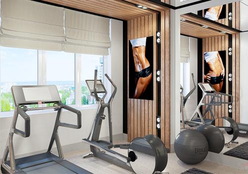Организация и обустройство спортзала для домашних тренировок