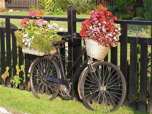 Как украсить забор в саду на частном участке? Оригинальные идеи